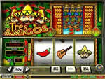 Tres Amigos Slot Machine from Golden Palace Online Casino